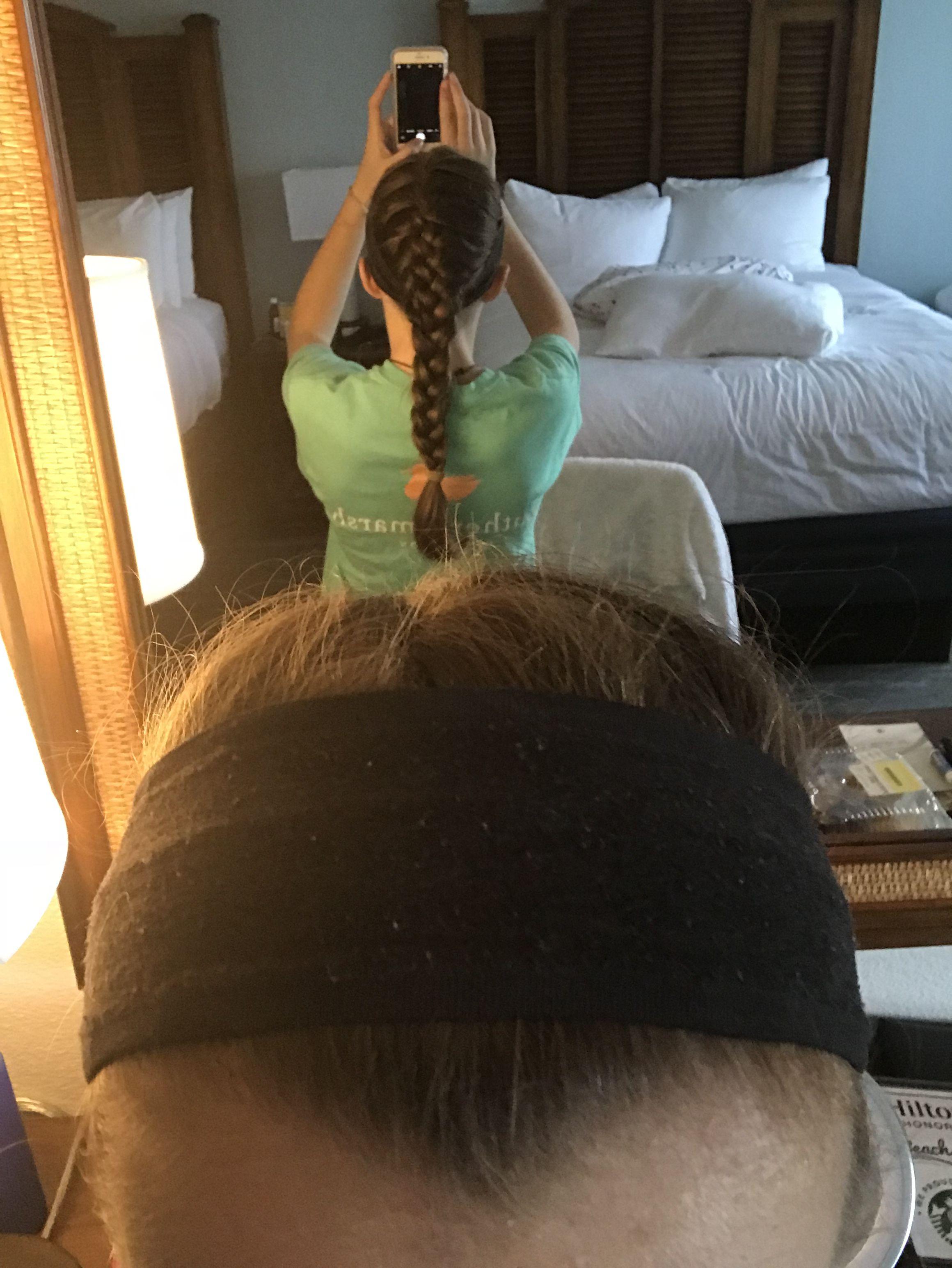 French braid French braid, Braids, Hair styles