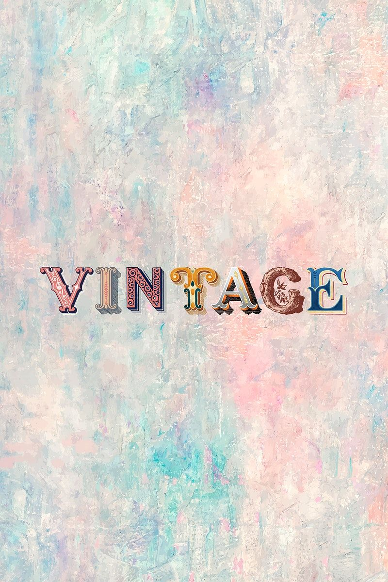 Vintage Word Antique Victorian Font Typography Free Image By Rawpixel Com Hein In 2020 Victorian Fonts Vintage Words Free Illustrations