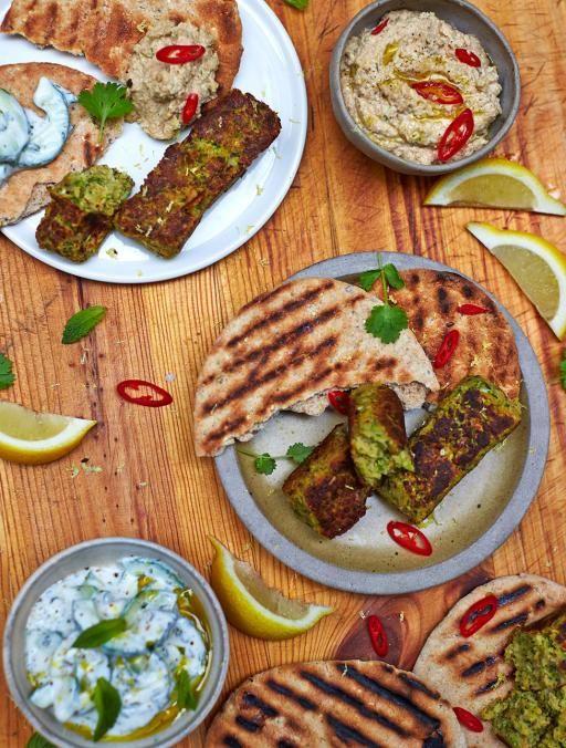 Vegan Kofte Vegetables Recipes Jamie Oliver Recipes Recipe Vegetable Recipes Veggie Recipes Jamie Oliver Recipes