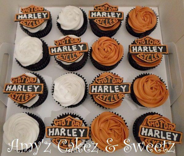 Harley Davidson Cupcakes Harley Davidson Cake Harley Davidson