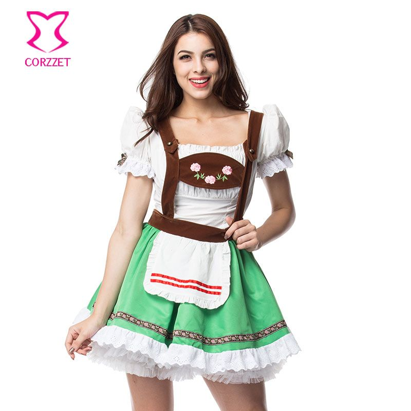 fd36cdb4960d Adult German Beer Maid Outfits Bavarian Oktoberfest Party Sexy Beer Girl  Halloween Costumes For Women Plus Size Fancy Dress XXL #Plus Size Halloween  ...