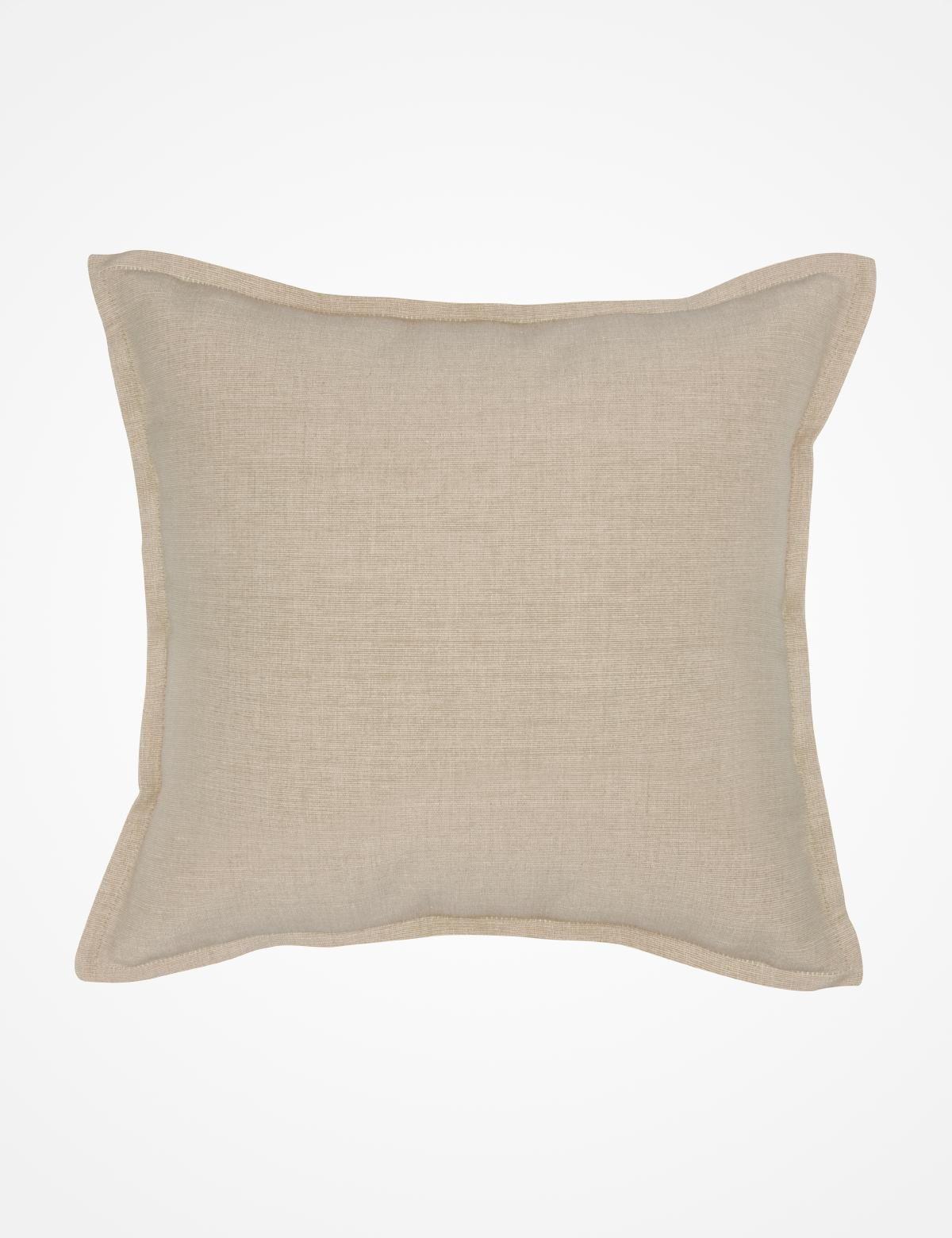 CROSSCOVER kuddfodral beige   Pillow   Pillow   Kuddar   Inredning   INDISKA Shop Online