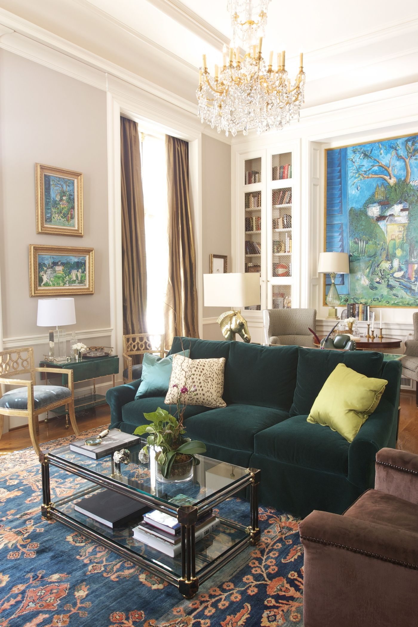 Atlanta Tuxedo Road | green couch | Pinterest | Wohnzimmer ideen ...