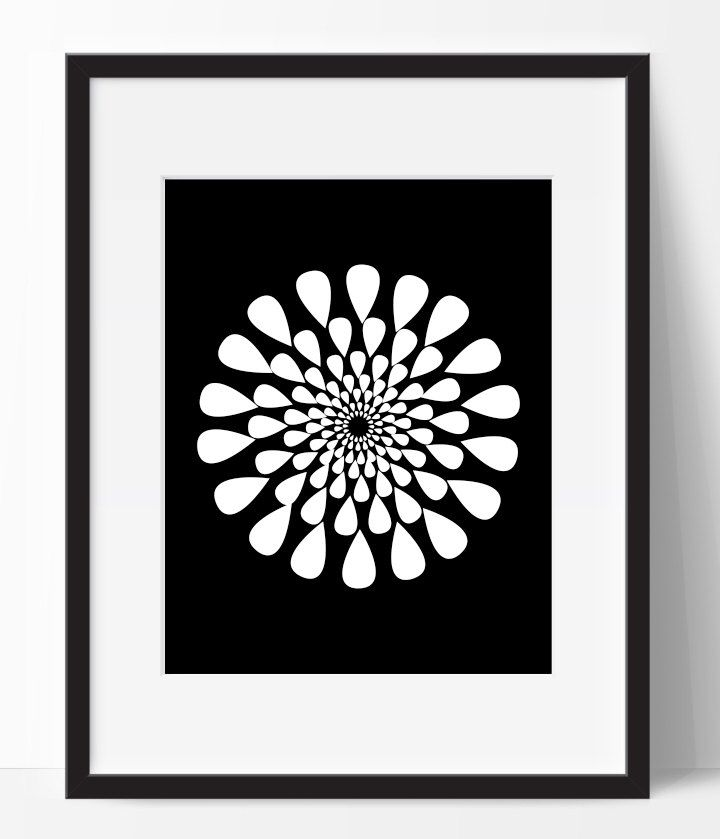 Pin By Danielle Hearn On Mandala Black Decor Wall