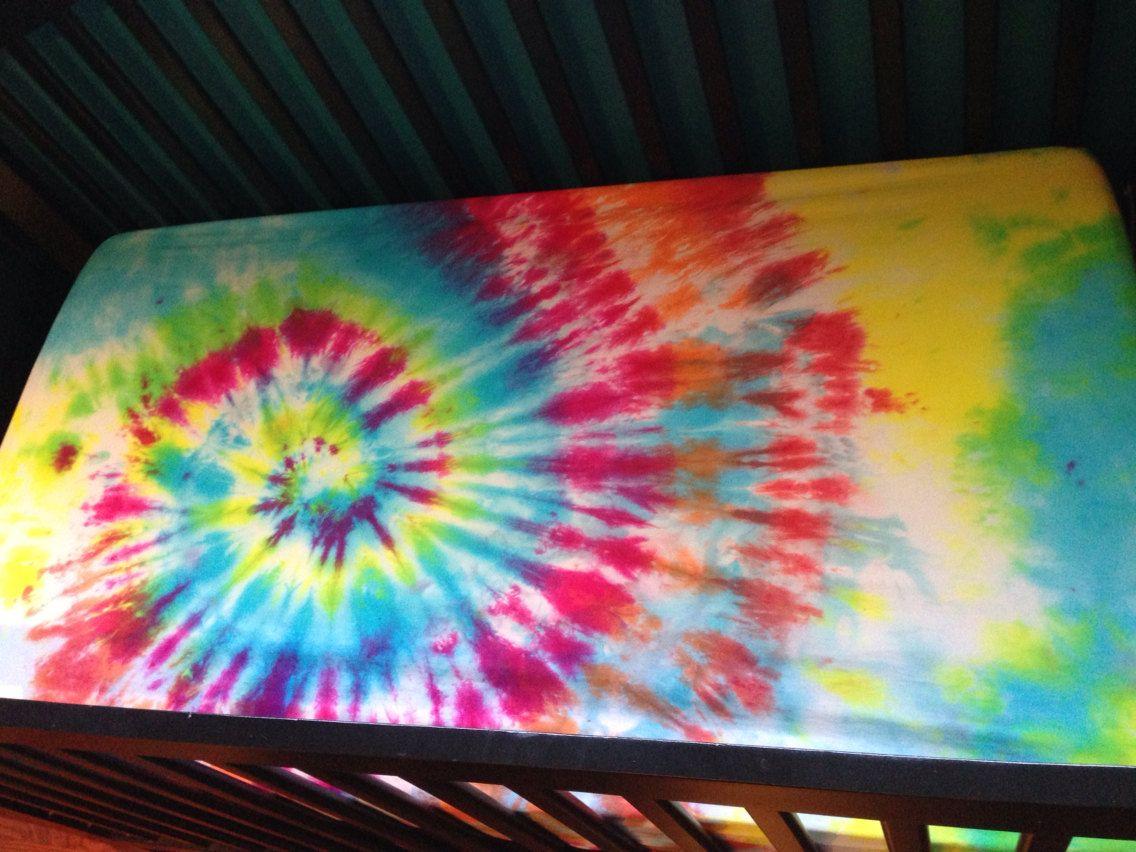Crib Sheet Tie Dye Baby Bedding By Krystoney On Etsy, $22.00