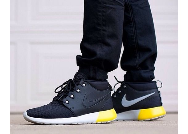 info for ca215 a4ace roshe-run-sneakerboot-black-yellow-white