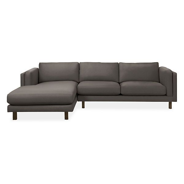 Incredible Holden Sofa With Chaise Modern Sectionals Modern Living Creativecarmelina Interior Chair Design Creativecarmelinacom