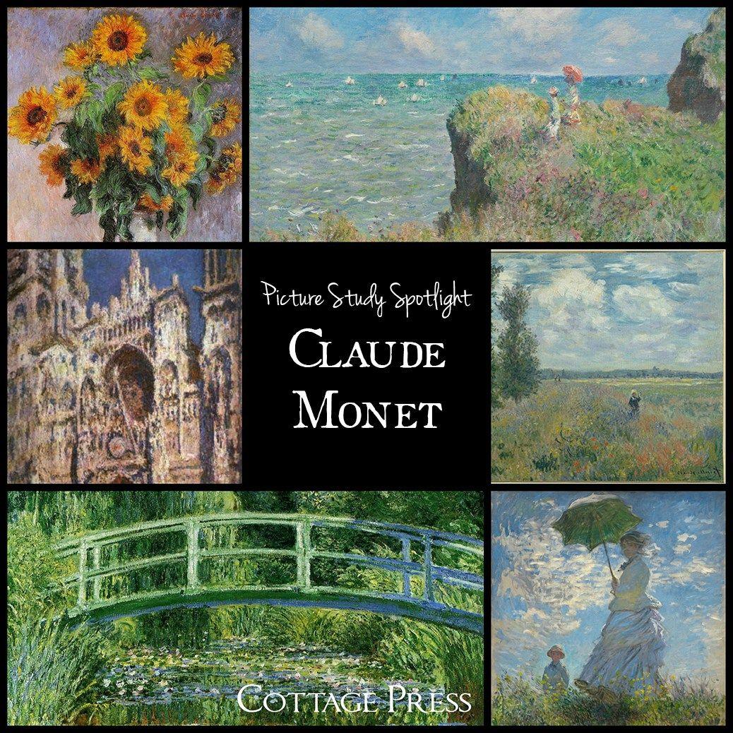 Picture Study Spotlight Claude Monet