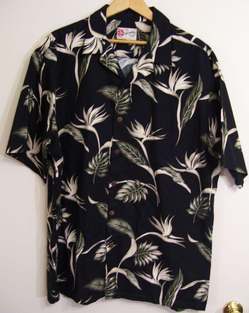 f550e23b Hilo Hattie Vintage 80's Hawaiian Shirt Size 2XL Made in USA 100% Cotton  Aloha #