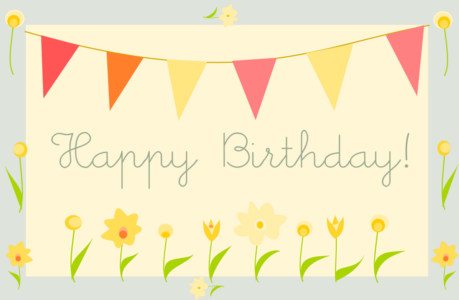 Photo Happy Birthday Card Template Free Download Images – Birthday Card Templates Free Download