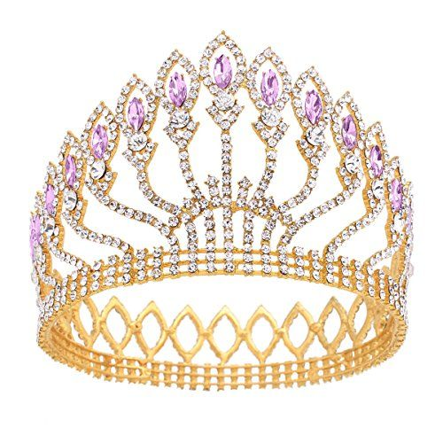 Hairstyles With Crown Queen: Stuffwholesale Marquise Crystal Crown Women Girl Queen