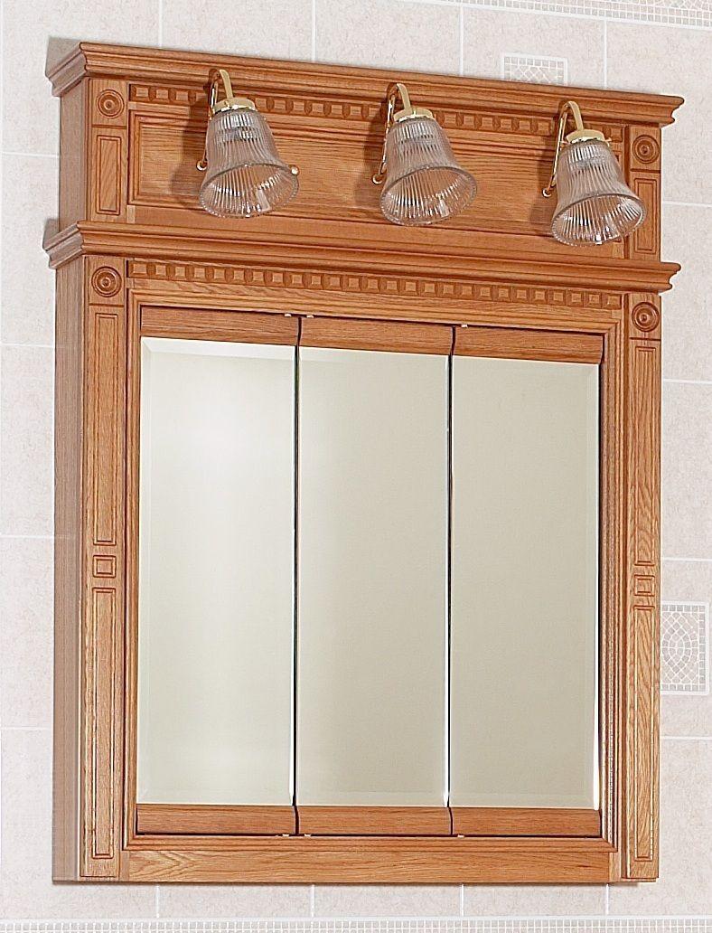 Bathroom 36 Vanity Lh Drawers Medicine Cabinet Mirror Lights