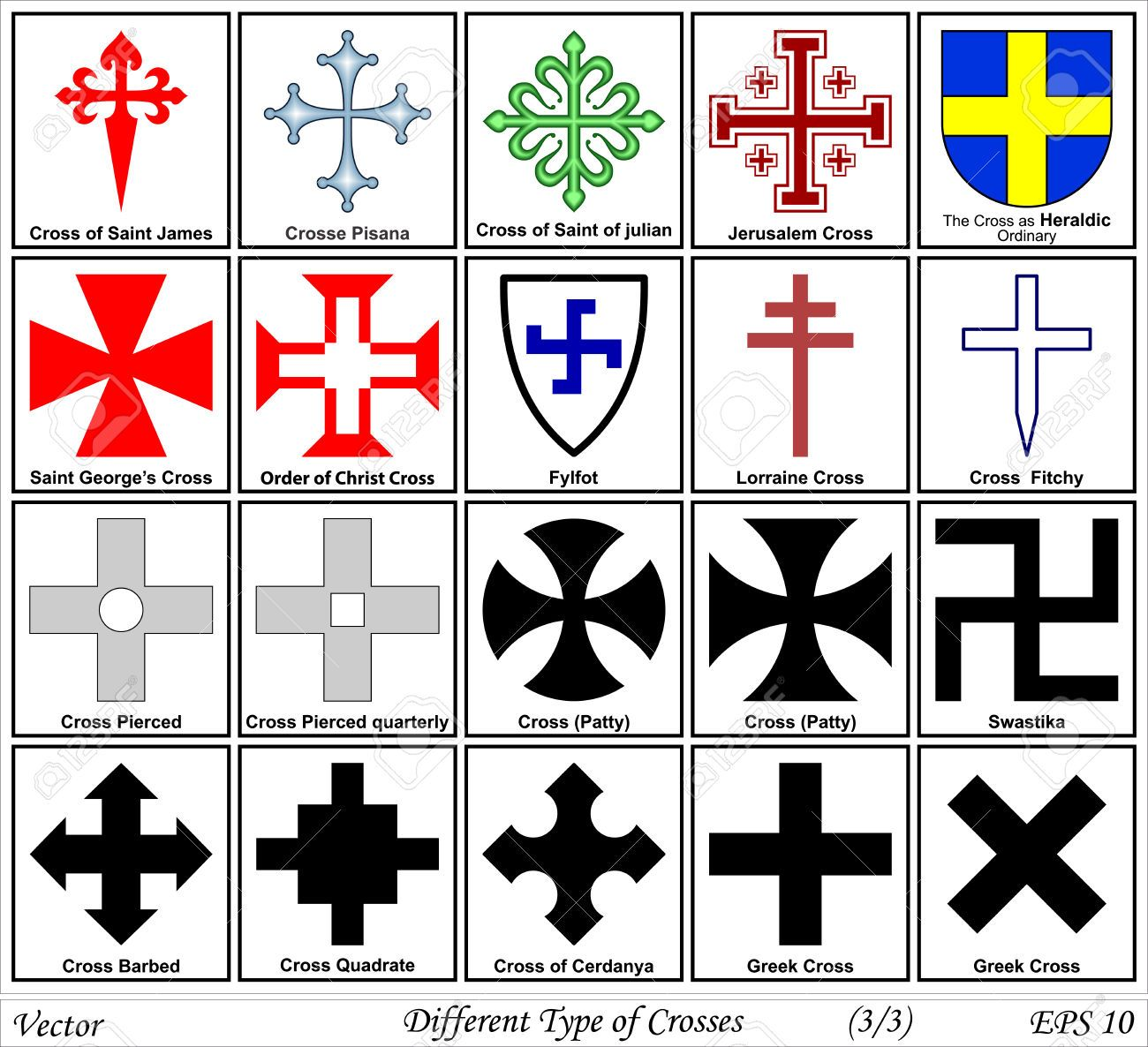 types of crosses google search cross design pinterest symbols knights templar and searching. Black Bedroom Furniture Sets. Home Design Ideas