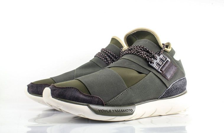 Yohji Qasa New Adidas High Yamamoto Green Sneakers Y 3 Dark In By 4U0wqT