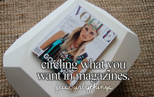 Just Girly Things.