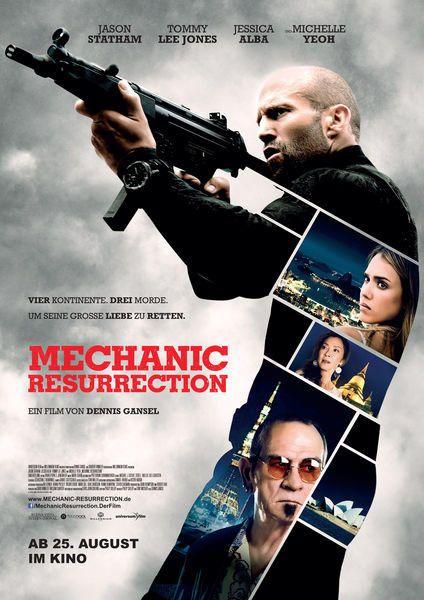 The Mechanic 2 Resurrection 2016 6 Von 10 Mechanic Resurrection Filme Filme Kostenlos Online Anschauen