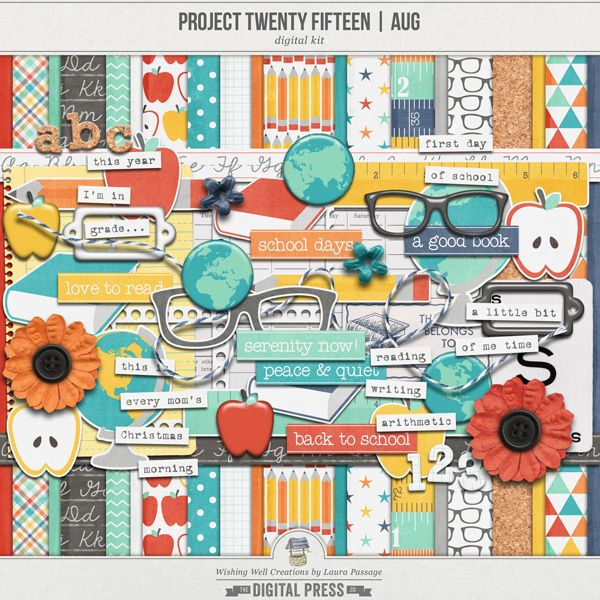 """Creations By Laura: August Kit By """"Wishing Well"""