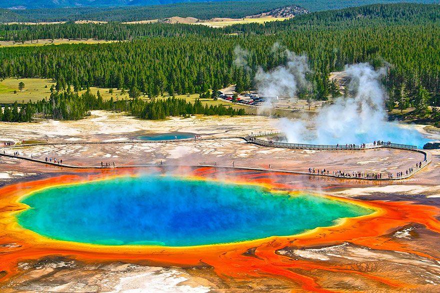 Gran Fuente Prismática, Wyoming (Estados Unidos).