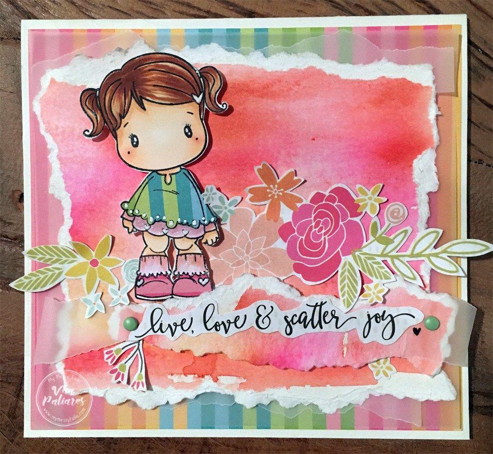 Cartão CC Designs com Van Paliares -