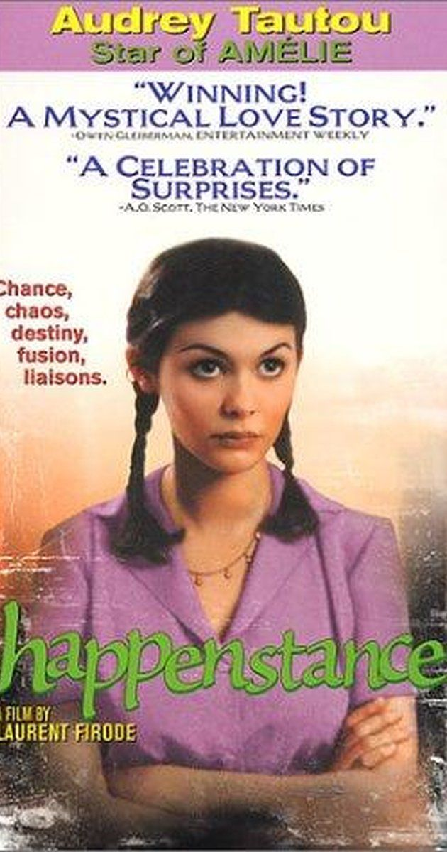 """Directed by Laurent Firode.  With Audrey Tautou, Faudel, Eric Savin, Nathalie Besançon. How, thanks to what's known as the """"Butterfly theory"""" (a random series of unlinked events), can a young woman and a young man meet ?"""