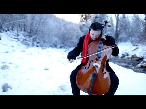LOVE ThePianoGuys: Carol of the Bells (for 12 cellos)  This is truly beautiful to listen to.