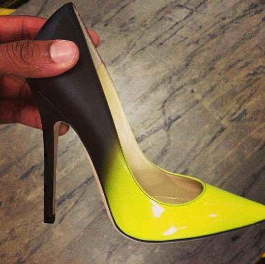 1000  ideas about Yellow Heels on Pinterest | Heels, Platform and ...