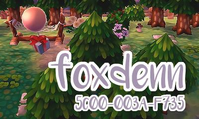   mobile links   Foxdenn: 5C00-003A-F735 ♡ sidebar art by @baercrossing icon art by @mayor-mami