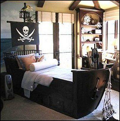 Pin By Milan Soukup On Baby Kid Things Pirate Bedroom Pirate Bedroom Theme Bedroom Themes
