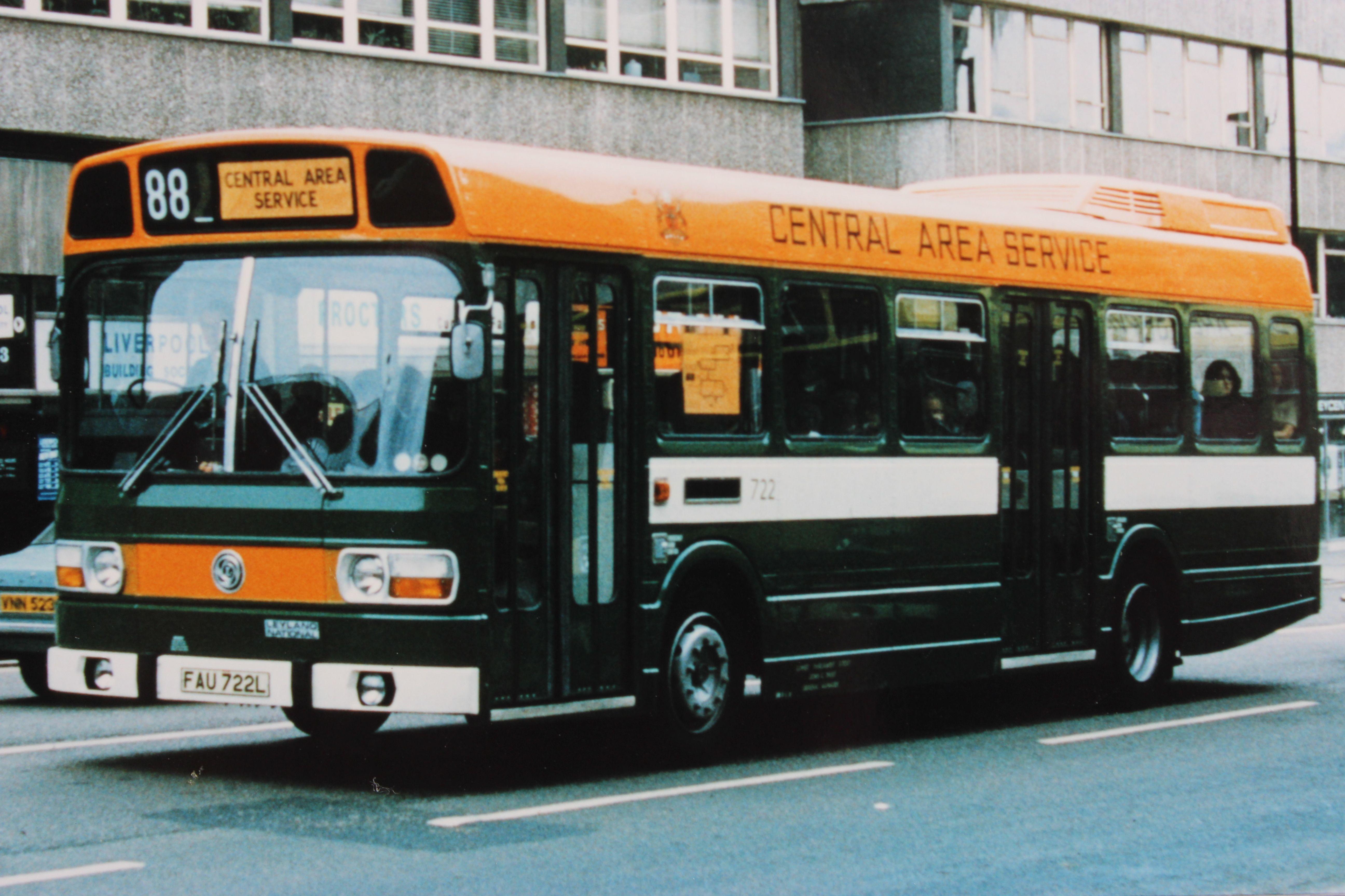 Nottingham City Transport Leyland National Nottingham City Bus Coach Public Transport