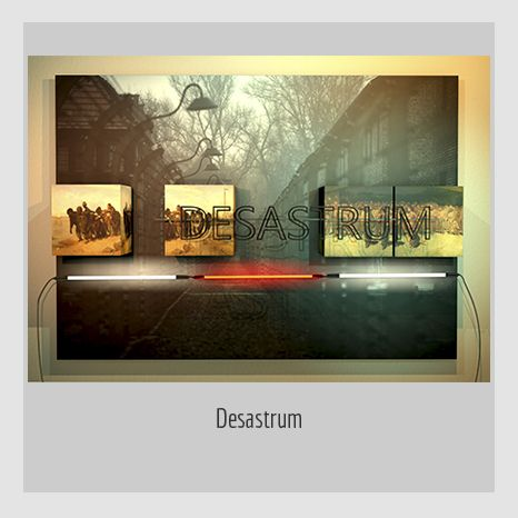 DESASTRUM. YENY CASANUEVA Y ALEJANDRO GONZÁLEZ. PROYECTO PROCESUAL ART