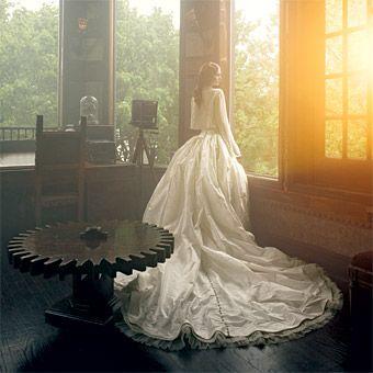 Vampire Inspired Wedding Dresses