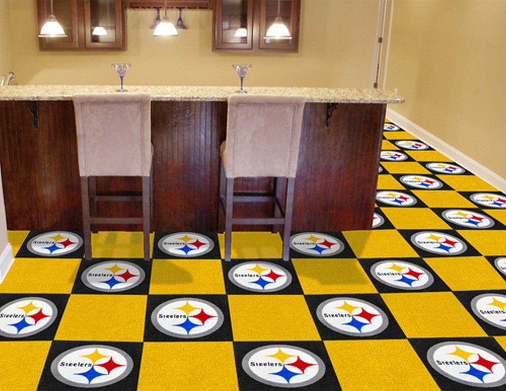 Pittsburgh Steelers Carpet Tiles Flooring