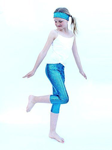 4e86799ae YogaBerries KIDS Capri Yoga Pants Printed Stretchy Soft Active 4 way  stretch Spandex Running Tights Workout