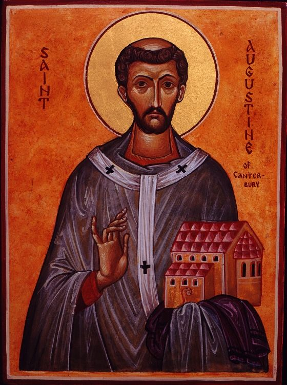 AUGUSTINE OF CANTERBURY (530 - 604).  Apostle to the English. www.churchhistorytimelines.com