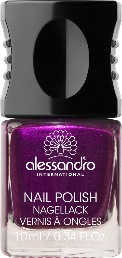 Nail Polish 46 Pearly Violet One of alessandro International\'s 99 ...