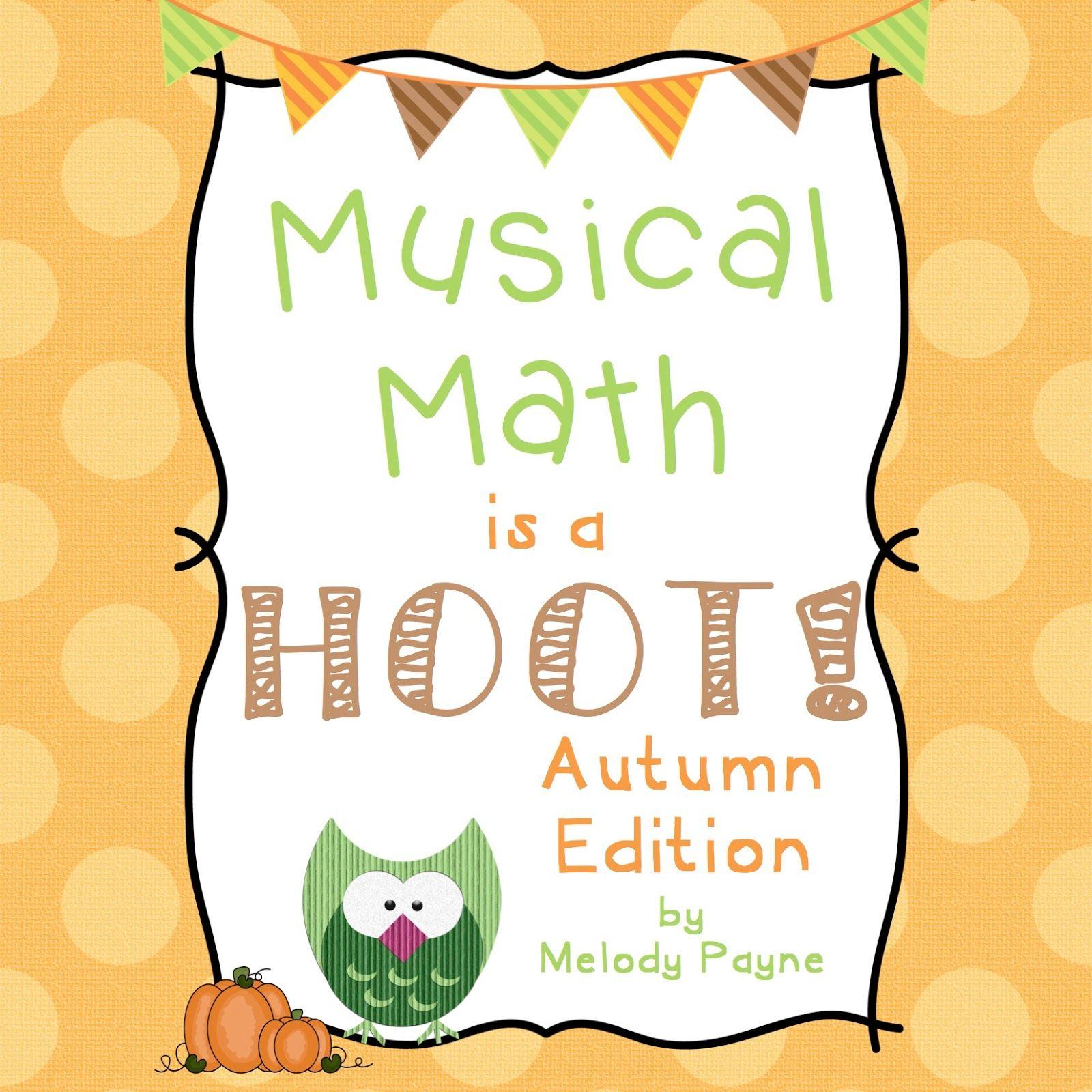 Musical Math Is A Hoot Halloween Store Image