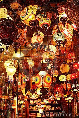 Turkish Lanterns by Desertofsnowflake, via Dreamstime