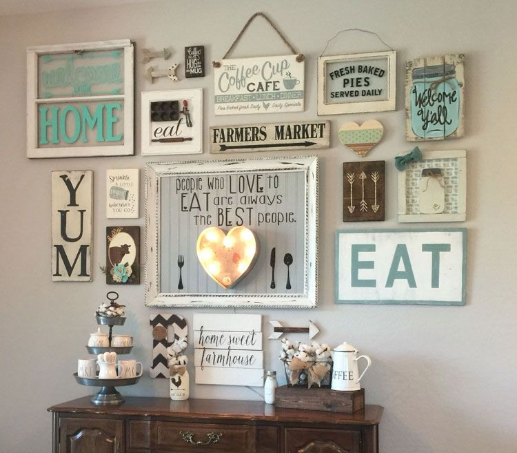 57 Kitchen Wall Decor Ideas With