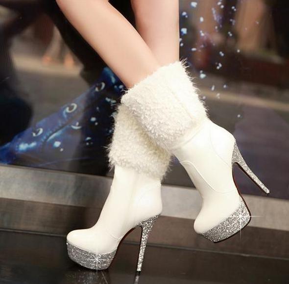 High heel boots, Heels