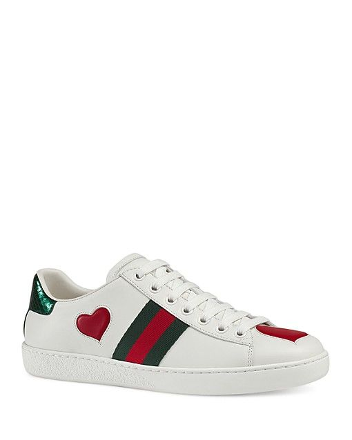 7abe3a8d929 Gucci New Ace Lace Up Sneakers - Bloomingdale's | Shoes | Sneakers ...