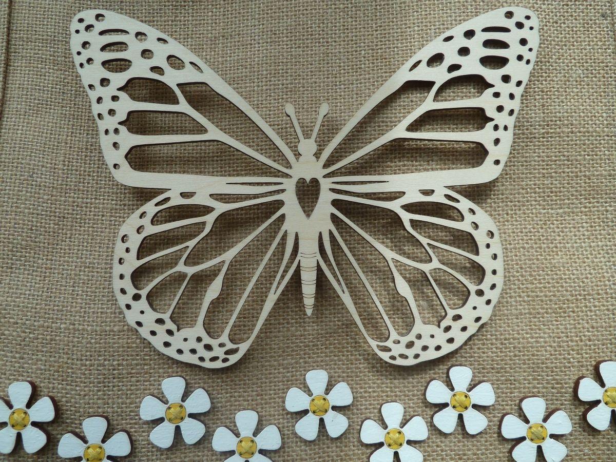 Filligree lasercut Monarch Butterfly