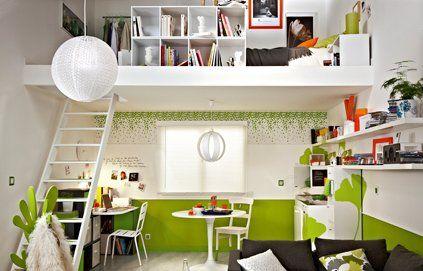 Aménager une mezzanine pour gagner de l\'espace   Mezzanine, Ado et ...