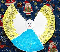 Resultado de imagen para dulceros   de navidad con platos de carton