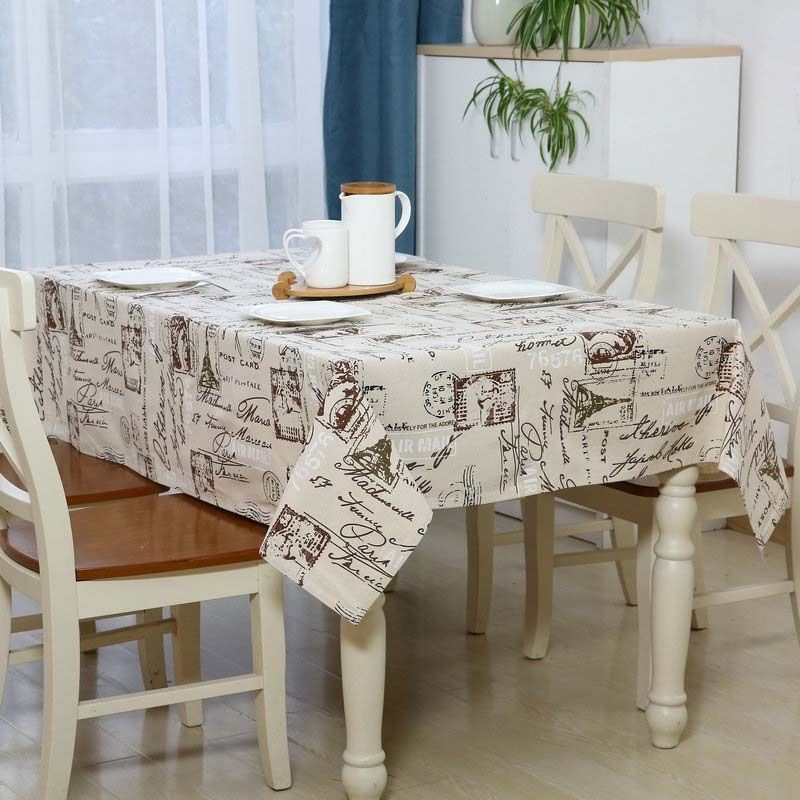 Tablecloths Home Garden Coffee Table Cover Table Covers