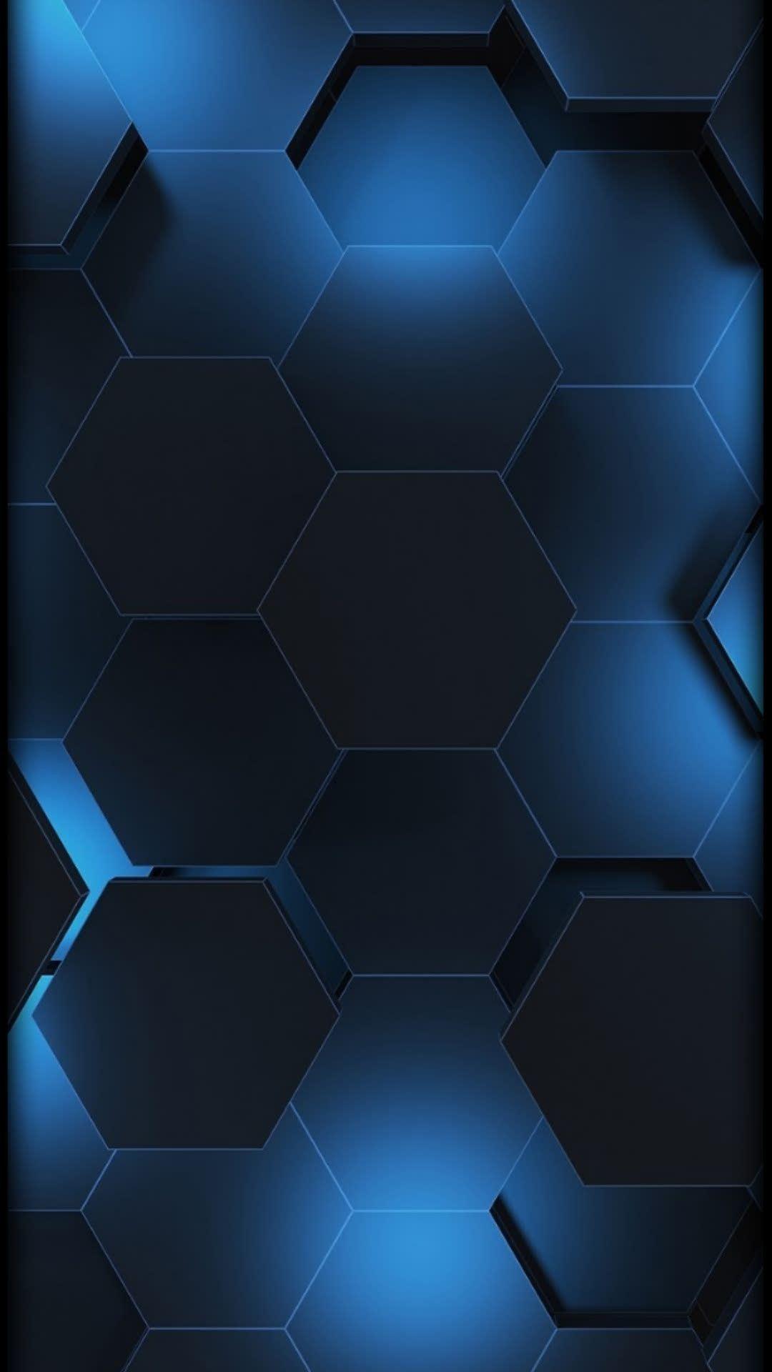 Honeycomb Dew Phone Wallpaper Design Black And Blue Wallpaper Cellphone Wallpaper