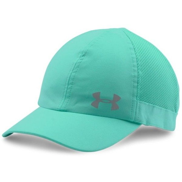65cf28f14b5 Under Armour Womens UA Fly Fast Cap ( 25) ❤ liked on Polyvore featuring  accessories