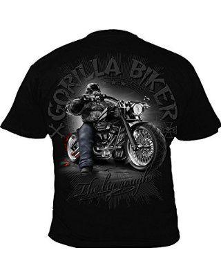 GB43 - Camiseta de motero para hombre e6f0546855476