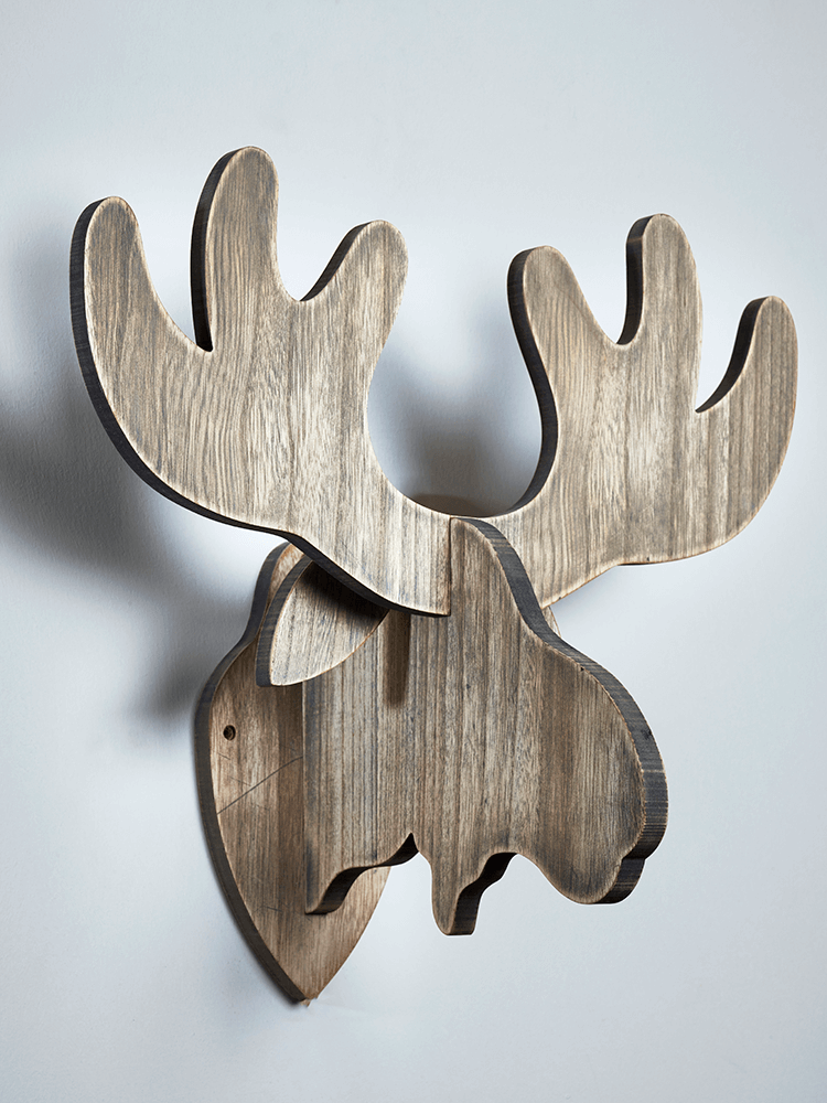 Keep It Simple And Scandi With Our Handsome Wooden Moose