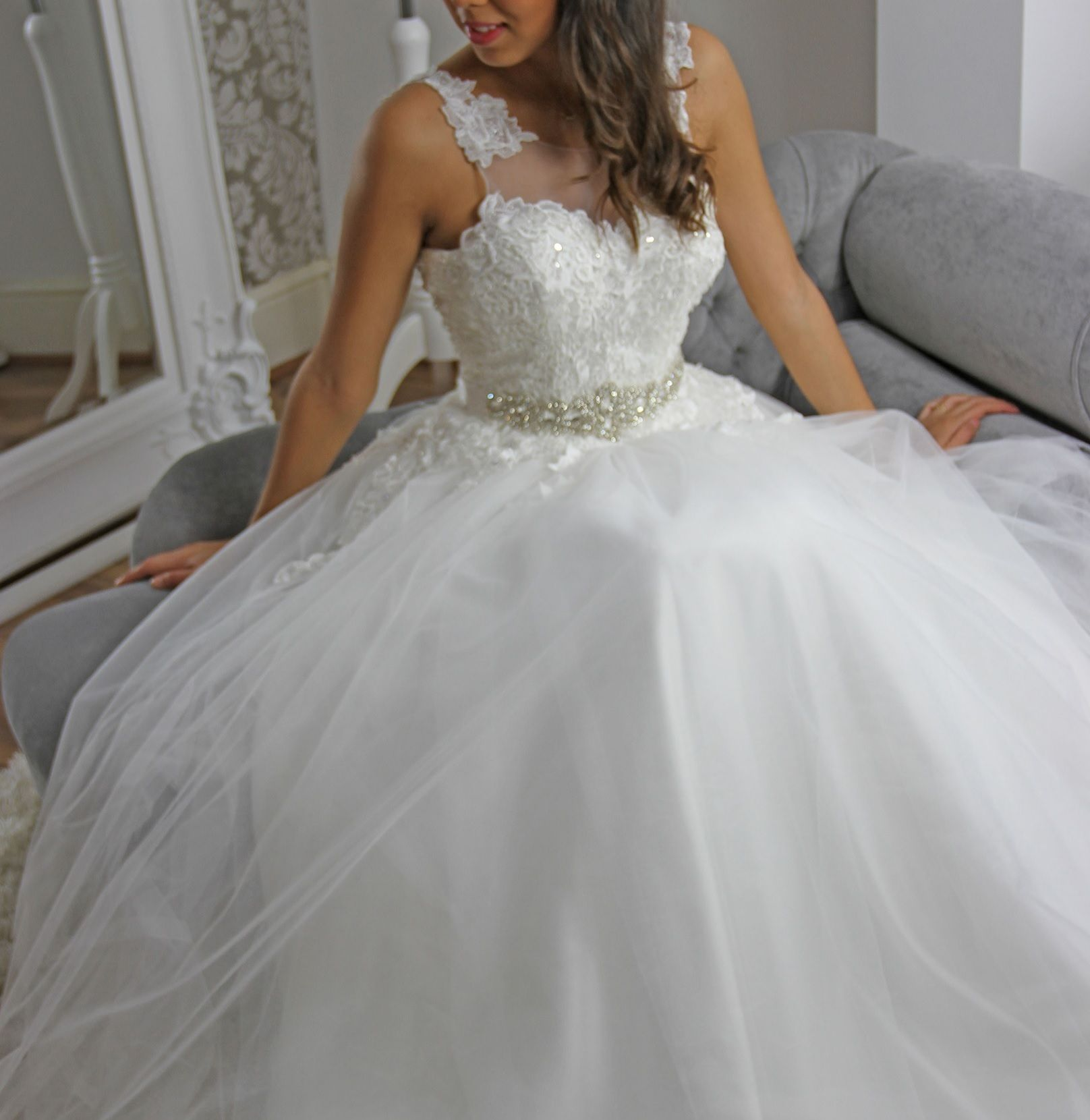 Princess Wedding Dress designed by our Customer, Tailored by Us ...