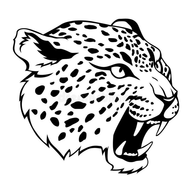 Jaguar Head Stylized Jaguar Head Black Illustration Sponsored Stylized Head Jaguar Illustration Black Ad Pictures To Draw Jaguar Jaguar Tattoo